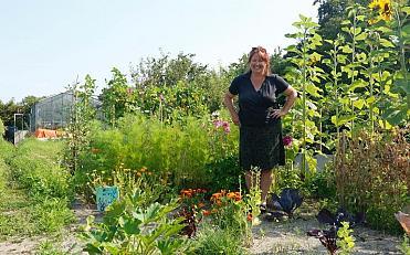 Tuinwerkdag bij de Groeituin