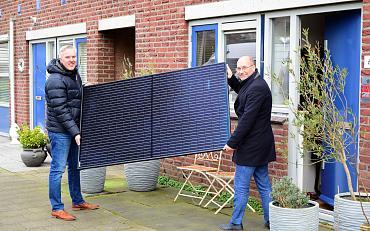 Stek biedt huurders mogelijkheid om zonnepanelen te plaatsen