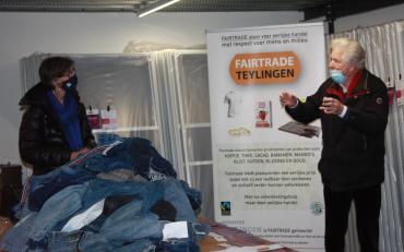 Winnaars spijkerbroekenactie Fairtrade Teylingen