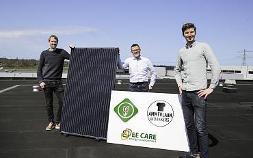 Eerste zonnestroomproject van Energie Coöperatie Teylingen van start!
