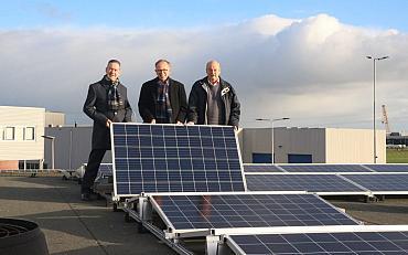 900 Extra zonnepanelen op daken van de gemeente Teylingen
