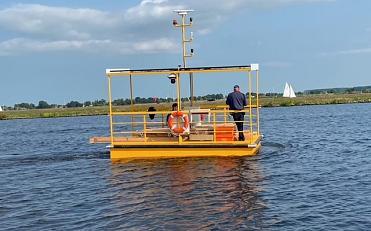 Duurzame elektrische pont uniek in Nederland