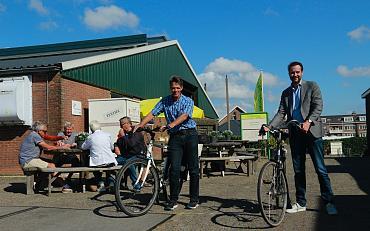 Terugblik fietstocht 'Fiets zoekt Boer'