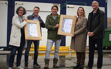 Woonwijk Hooghkamer behaalt duurzaamheidspredicaat NL Gebiedslabel