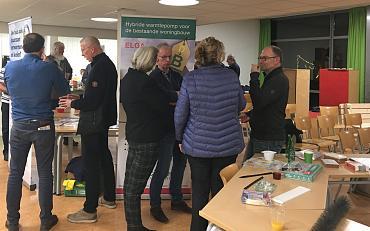 Zonne-borrel wijkvereniging VEMS in teken van verduurzamen