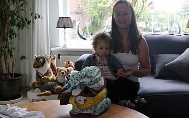 Cecile uit Voorhout gaat voor wasbare luiers!