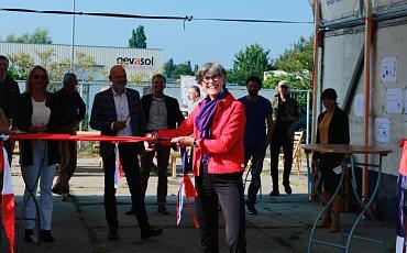 Feestelijke opening Circulair Ambachtscentrum Bollenstreek