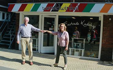 Wereldwinkel Noordwijkerhout en Wereldwinkel Sassenheim slaan handen ineen
