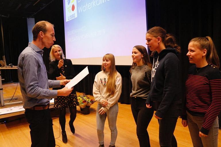 Leerlingen Fioretti College 'kraken de casus' rondom duurzaamheid