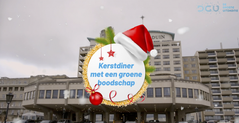 DGU presenteert: Een vegetarisch kerstdiner van Restaurant Latour Grand Hotel Huis ter Duin