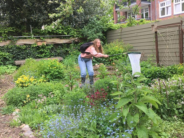 Park Rusthoff in actie voor Bijenlint Bollenstreek